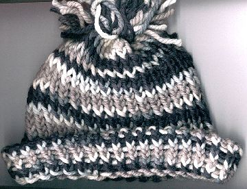 variegated gray hat