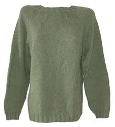 soft green cashmere sweater